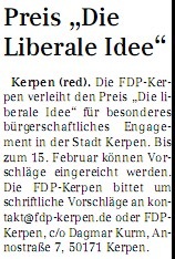 sonntagspost liberale idee 13.02.2011